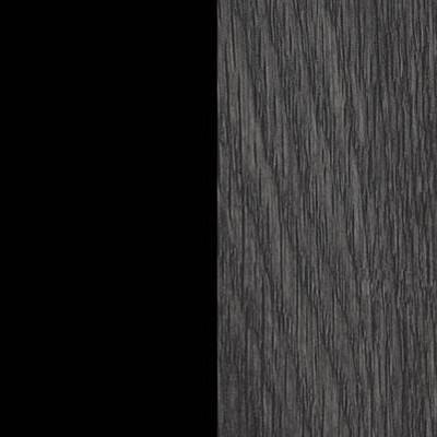 Gray Oak/Black