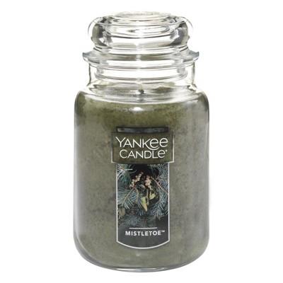 Yankee Candle 22oz Apothecary Jar - Mistletoe