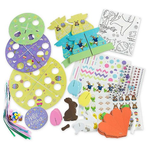 HearthSong - Crafty Creations Easter Table Decorating Kit with Accessories - image 1 of 4