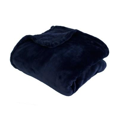 Marni Loft Throw Blanket Navy - Décor Therapy