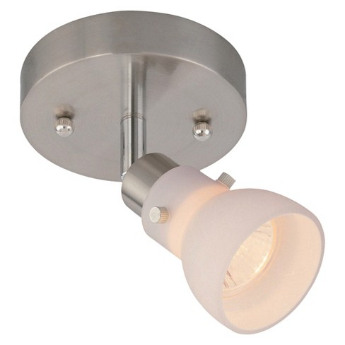 Lite Source Director Ii Flush Mount Ceiling Light - Silver - image 1 of 1