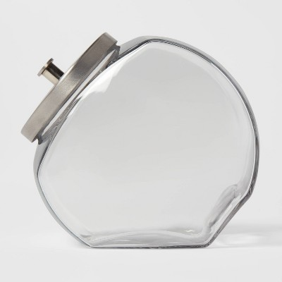 128oz Glass Penny Jar with Metal Lid - Threshold™