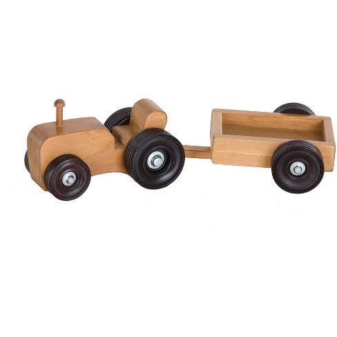 Remley Kids Wooden Tractor Wagon Playset - image 1 of 1