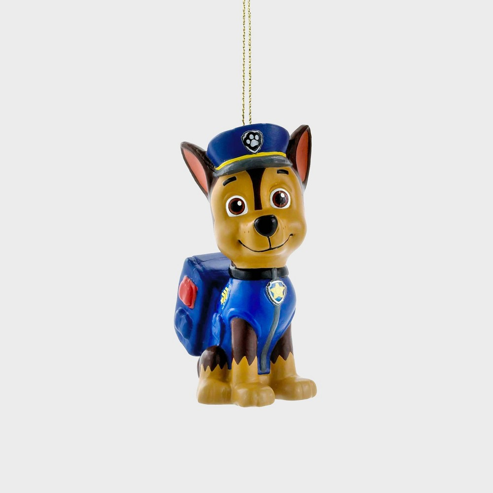 """Image of """"3"""""""" PAW Patrol -Chase Christmas Ornament"""""""