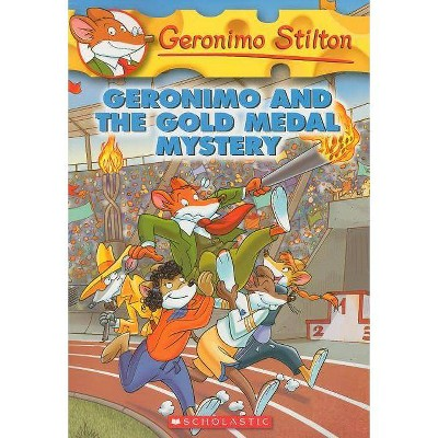 Geronimo Stilton #33: Geronimo and the Gold Medal Mystery - (Paperback)