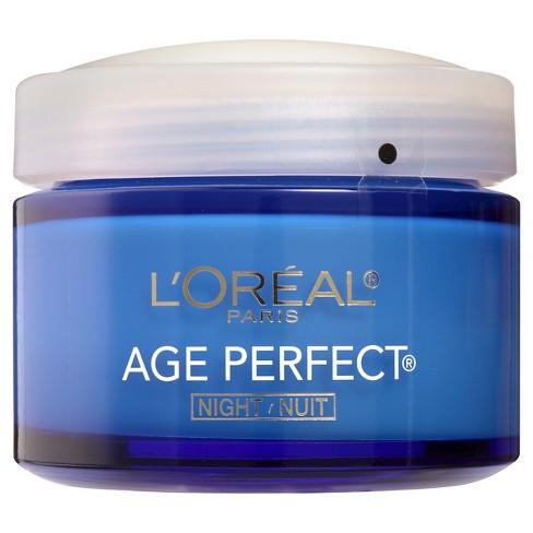 L'Oreal Paris Age Perfect Night Cream 2.5oz - image 1 of 3