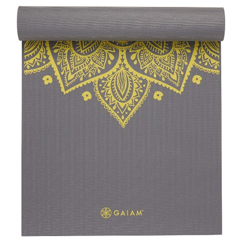 Gaiam Citron Sundial Yoga Mat (5mm) - image 1 of 4