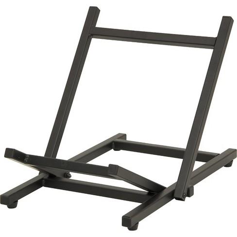 On-Stage Folding Tiltback Amp Stand Black Folds Flat - image 1 of 4