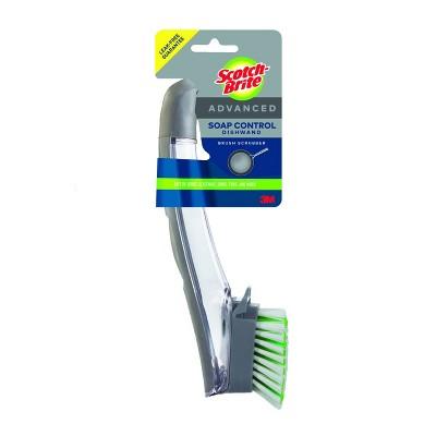 Scotch-Brite Advanced Soap Control Brush Scrubber Dishwand