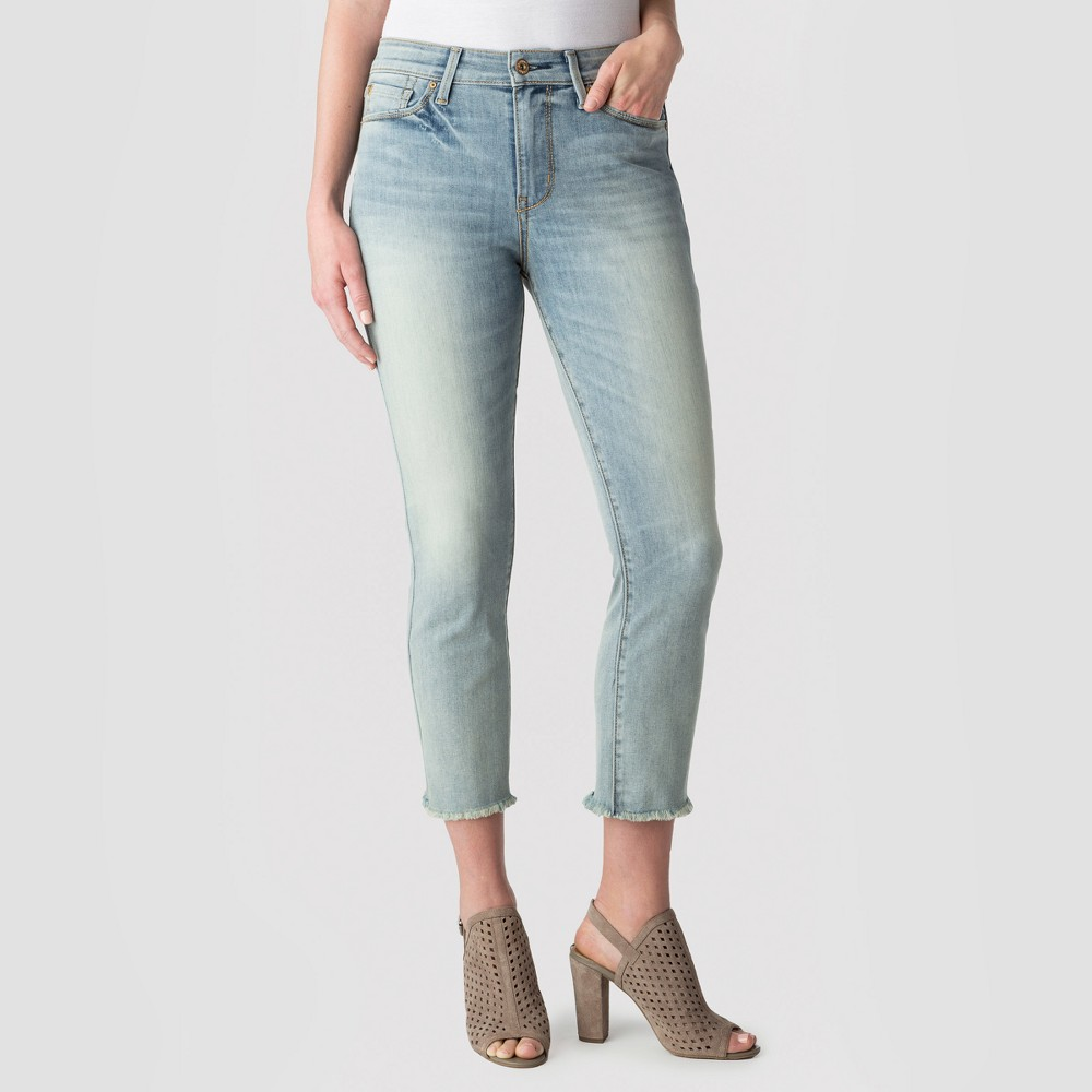 Denizen from Levi's Women's High-Rise Slim Crop - Light Wash 16