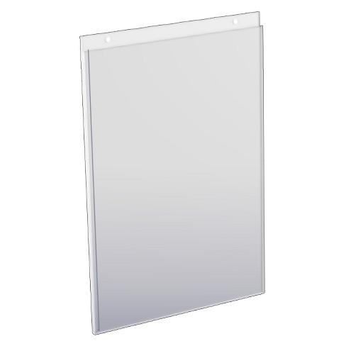 Azar 11 X 17 Wall U Frame Acrylic Sign Holder 10ct Target