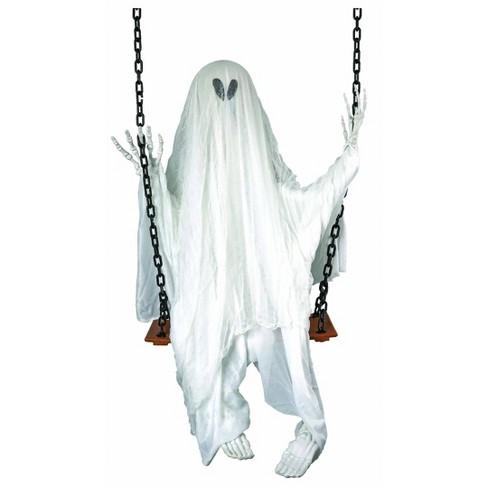 Swinging Grim Reaper Decorative Halloween Scene Prop - image 1 of 1