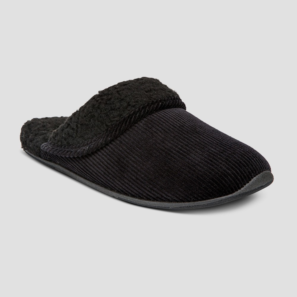 Men's Deer Stags Slide Slippers - Black 9