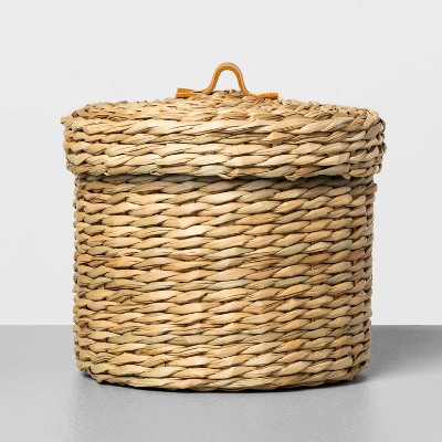 Medium Woven Bath Storage Canister - Hearth & Hand™ with Magnolia