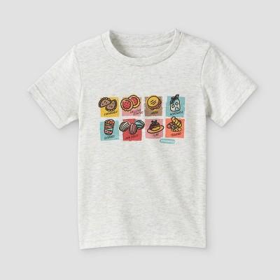 Latino Heritage Month Toddler Snacks Short Sleeve T-Shirt - Light Gray