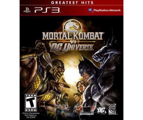 Mortal Kombat vs. DC Universe PlayStation 3 - image 1 of 2