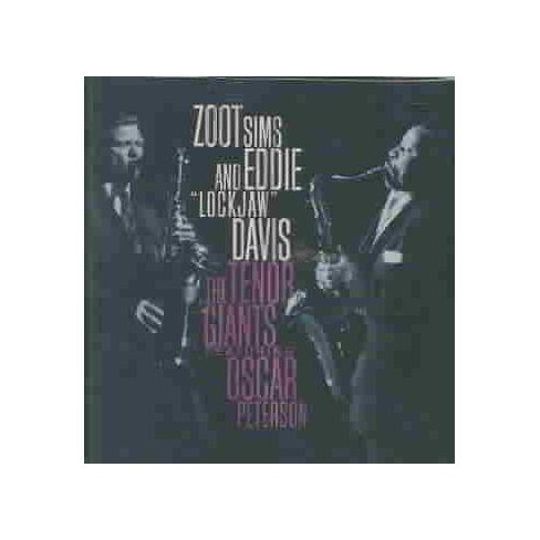 Zoot Sims &  E Davis - Tenor Giants Featuring Oscar Peterson (CD) - image 1 of 1