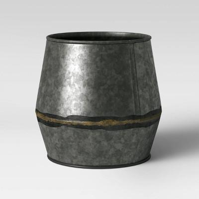 8  Darkened Zinc Planter Natural - Smith & Hawken™