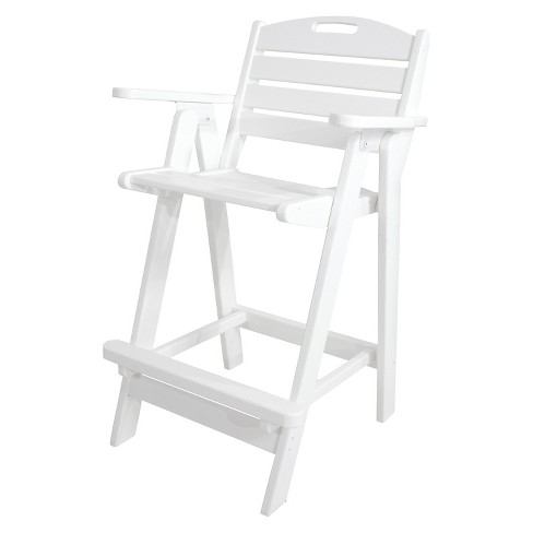 POLYWOOD® Nautical Bar Height Patio Arm Dining Chair - image 1 of 4