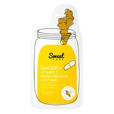 Sweet Chef Ginger Vitamin C Fresh Pressed Sheet Face Mask -.68oz