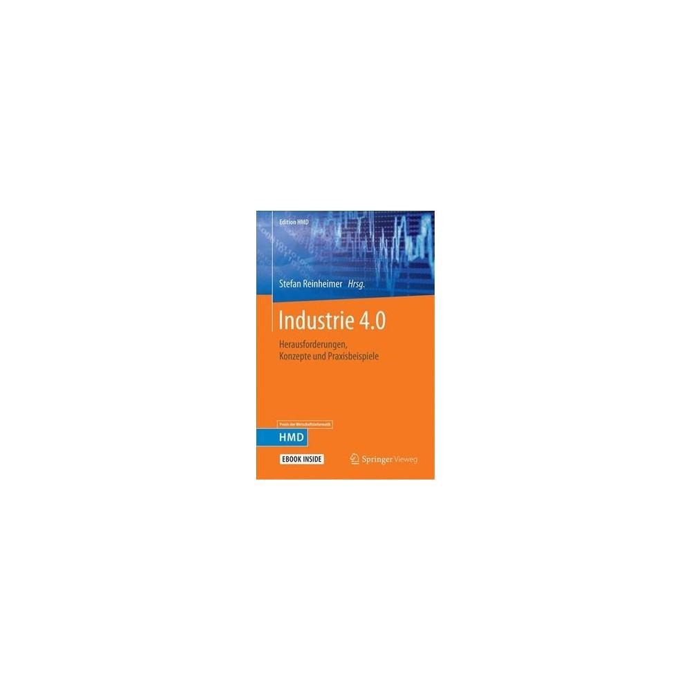 Industrie 4.0 : Herausforderungen, Konzepte Und Praxisbeispiele - (Hardcover)