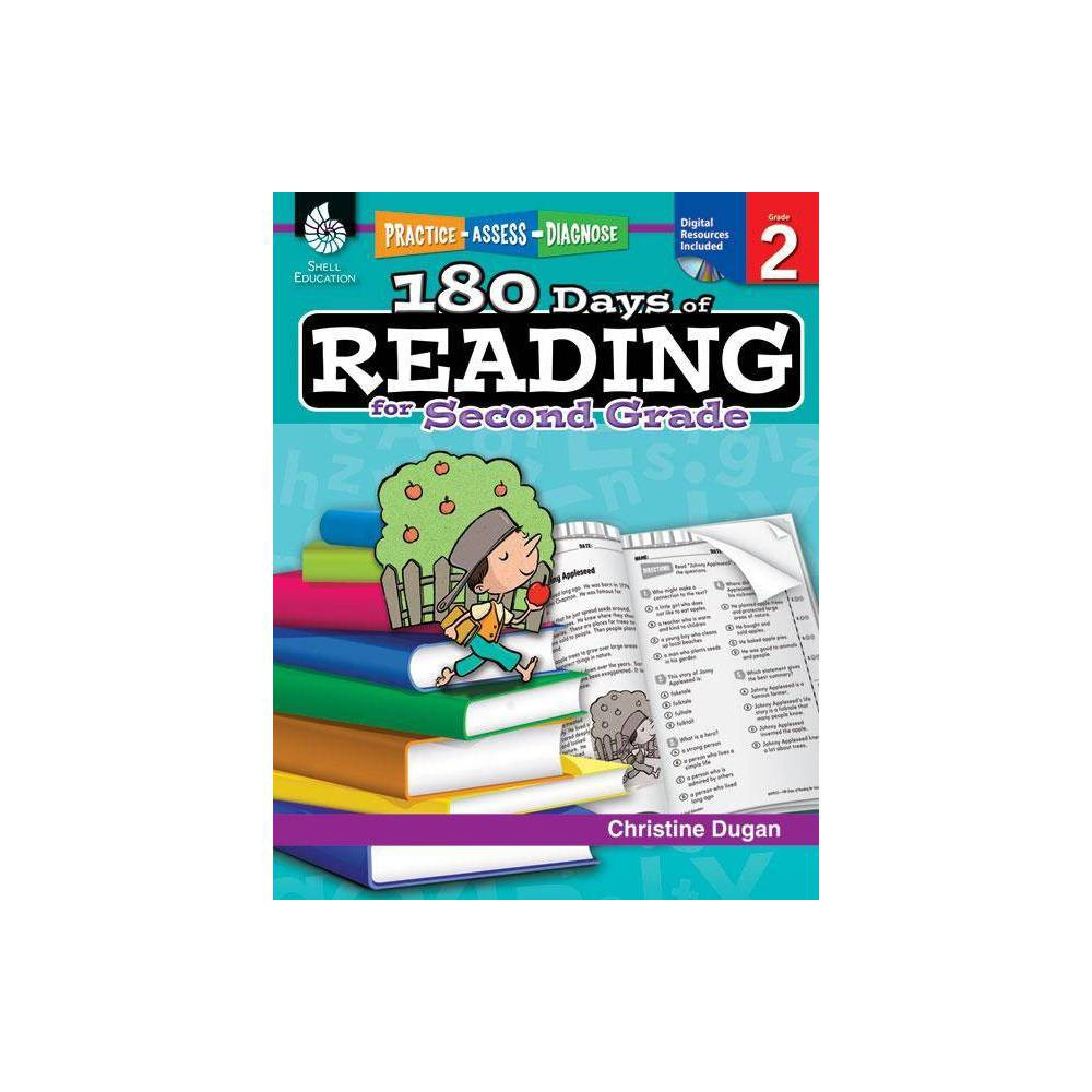 180 Days Of Reading For Second Grade 180 Days Of Practice By Christine Dugan Paperback