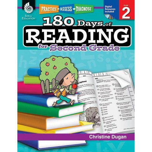 180 Days of Reading for Second Grade (Grade 2) - (180 Days of Practice) by  Christine Dugan (Paperback) - image 1 of 1