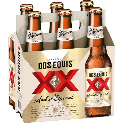 Dos Equis Ambar Mexican Lager Beer - 6pk/12 fl oz Bottles