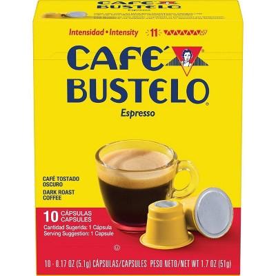 Cafe Bustelo Espresso Roast Coffee Pods - 10ct