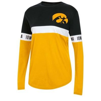 NCAA Iowa Hawkeyes Women's Long Sleeve T-Shirt