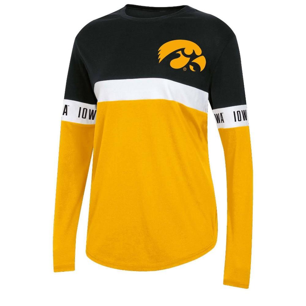 Ncaa Iowa Hawkeyes Women 39 S Long Sleeve T Shirt S