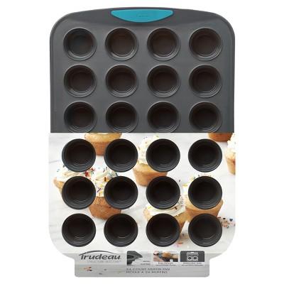 Trudeau Structure Silicone Mini Muffin Pan 24ct
