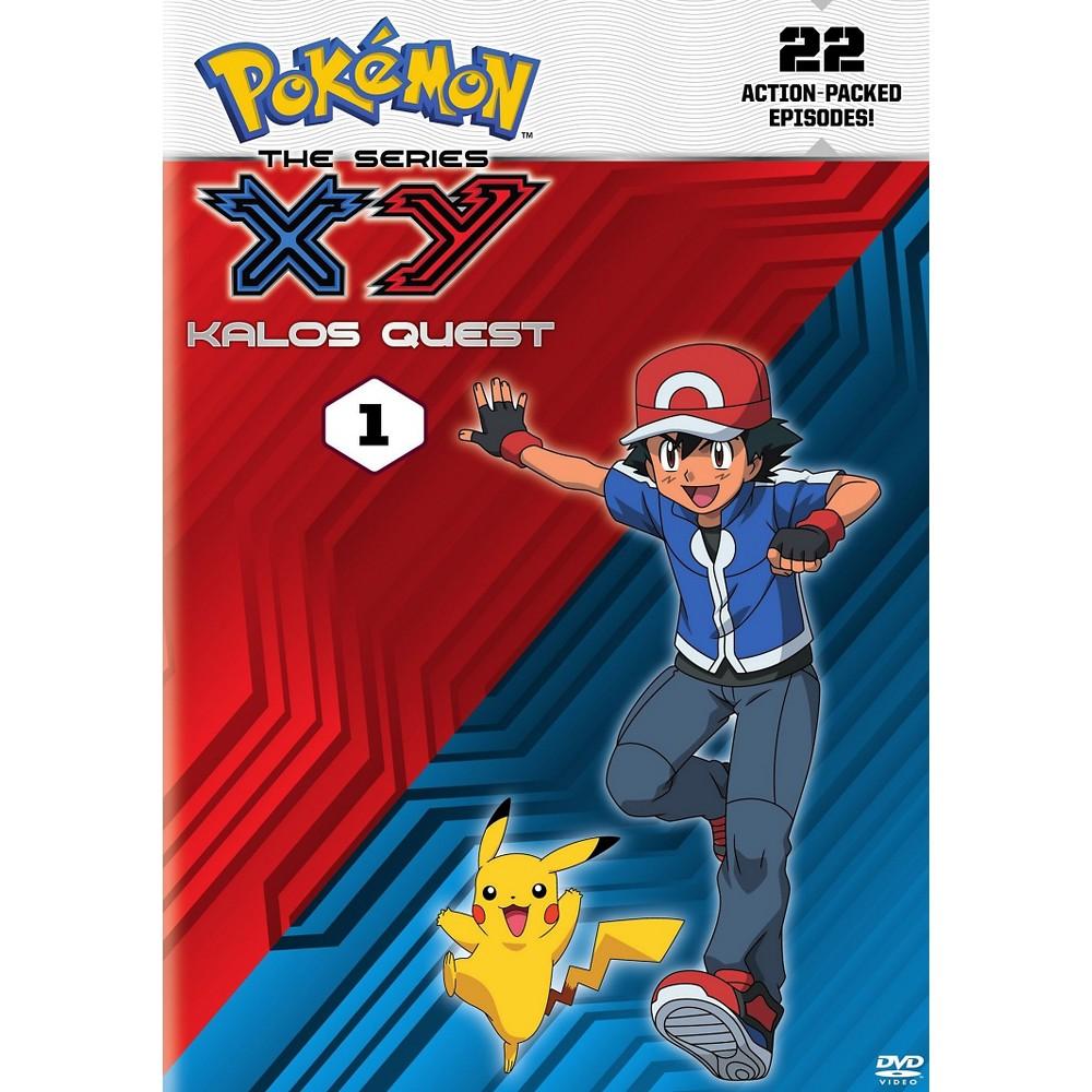 Pokemon The Series:Xy Kalos Quest 1 (Dvd)