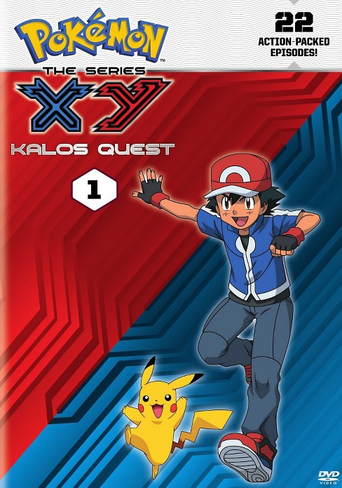 Pokemon the series:Xy kalos quest 1 (DVD) - image 1 of 1