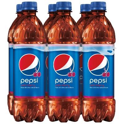 Pepsi Wild Cherry Cola - 6pk/16.9 fl oz Bottles