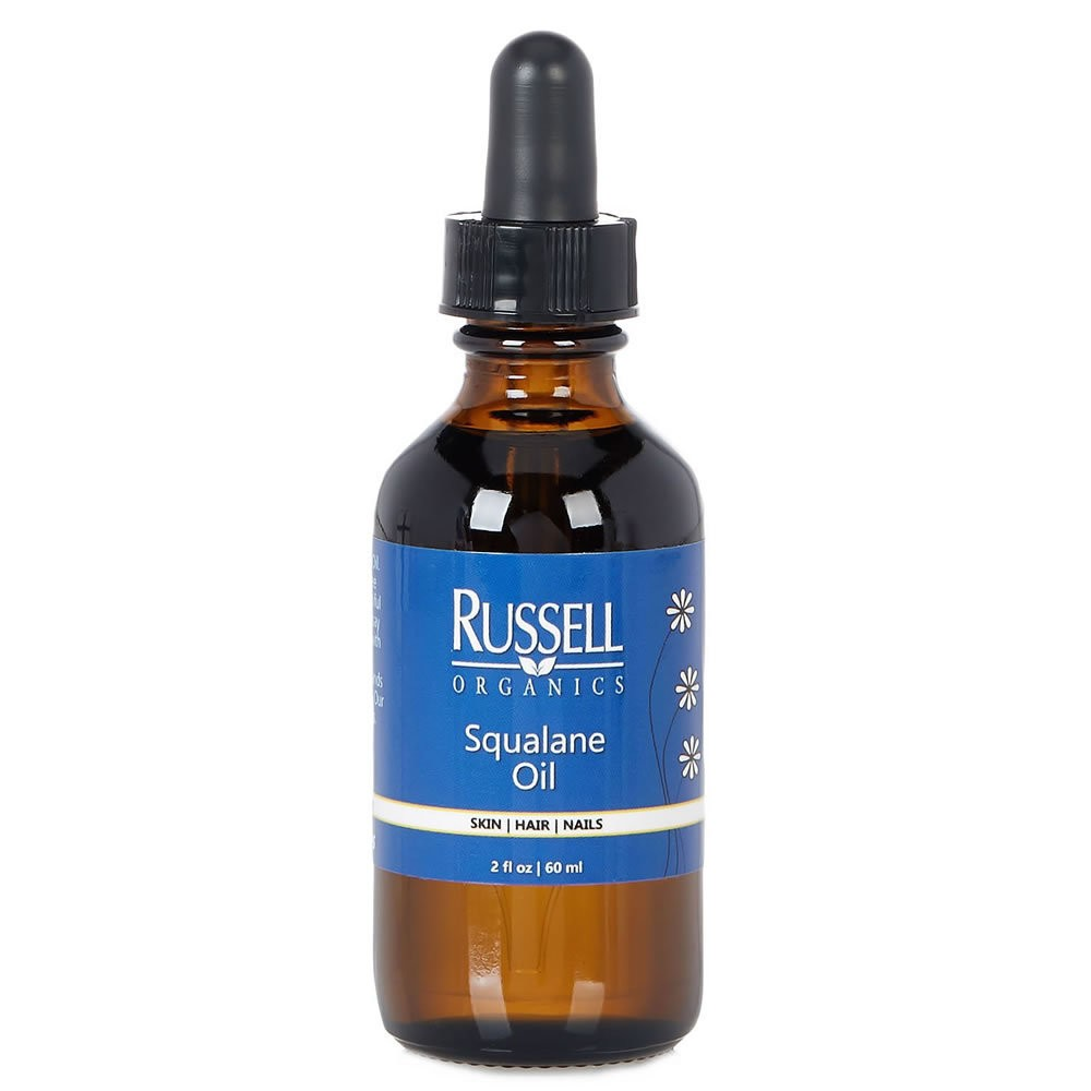 Unscented Russell Organics Squalane Oil - 2 fl oz