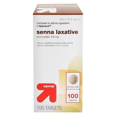 Senna Laxative Tablets - 100ct - up & up™