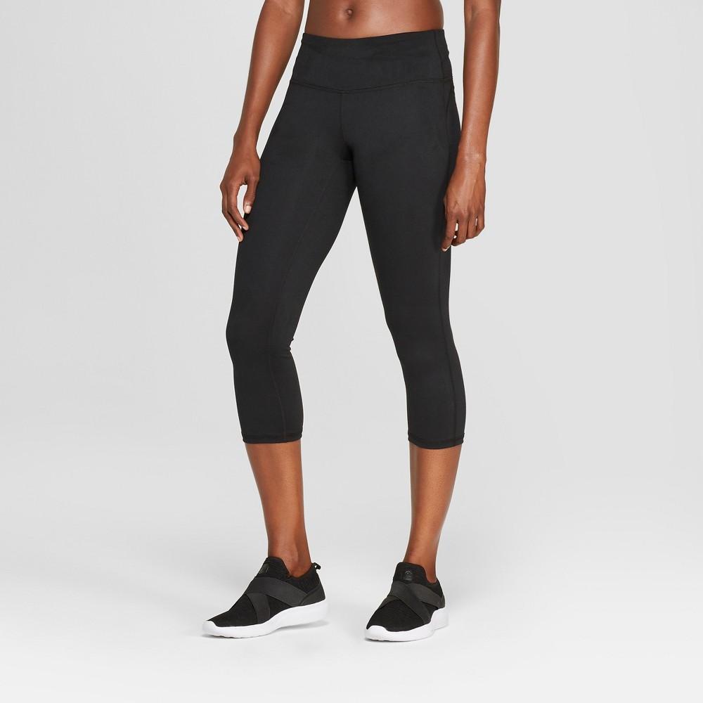 Women's Everyday Mid-Rise Capri Leggings 20 - C9 Champion Black Xxl