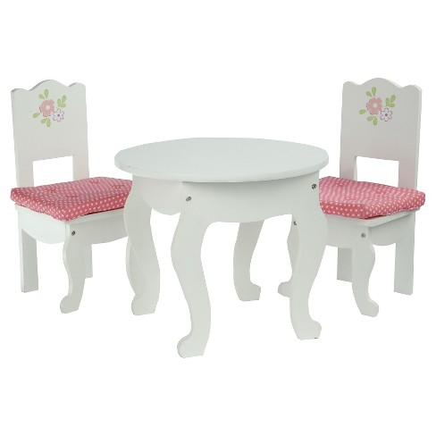 Olivia S Little World Princess 18 Doll Furniture Table 2 Chairs Set