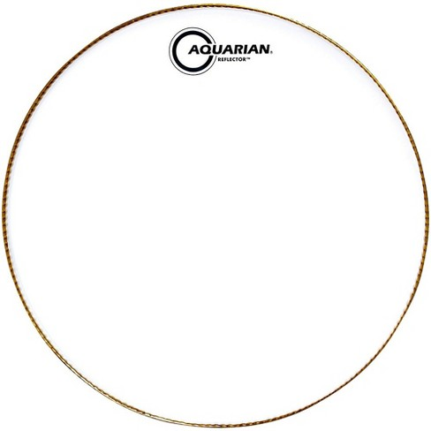 Aquarian Ice White Reflector Drum Head - image 1 of 3