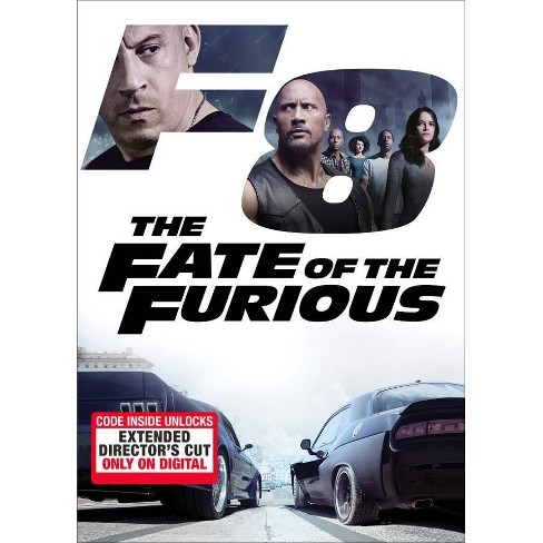 The Fate of the Furious (Hobbs & Shaw Movie Cash) (DVD) - image 1 of 1