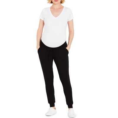 Motherhood Maternity | Under Belly French Terry Jogger Maternity Pants