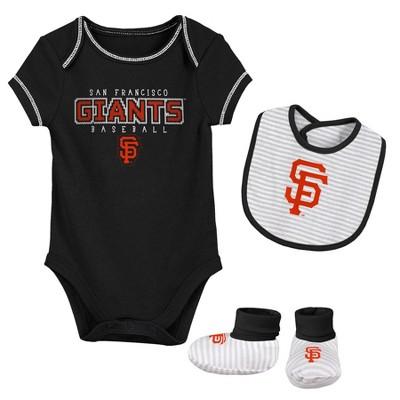 MLB San Francisco Giants Baby Boys' Short Sleeve Layette Set - 3-6M