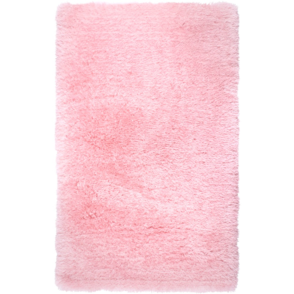 Image of Elle Kids 2'x3' Paramount Shag Accent Rug Pink - Home Dynamix