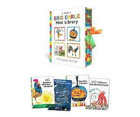 The Eric Carle Mini Library (Hardcover) by Eric Carle - image 1 of 1