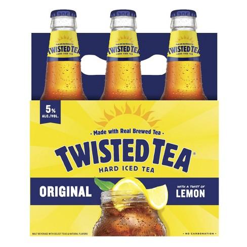 Twisted Tea Original Hard Iced Tea - 6pk/12 Fl Oz Bottles : Target