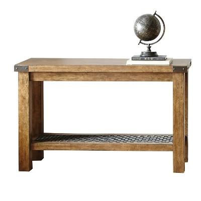 Hailee Sofa Table Oak - Steve Silver