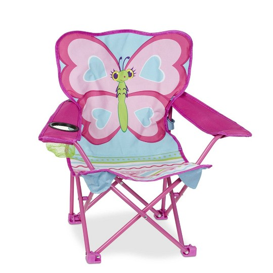 Melissa & Doug Sunny Patch Cutie Pie Butterfly Folding Lawn and Camping Chair image number null