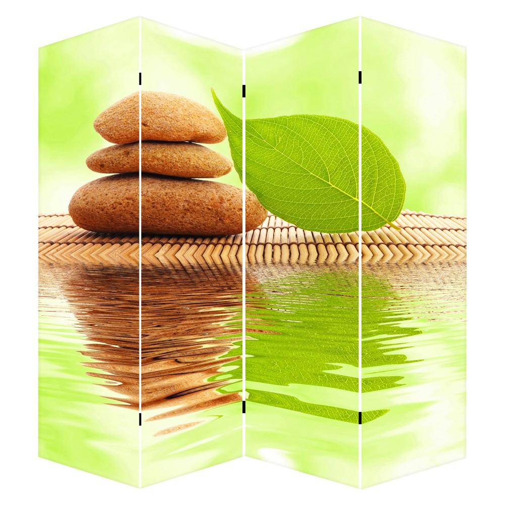 "Image of ""Room Divider 71"""" - Canvas - Pebble Stones - Ore International"""