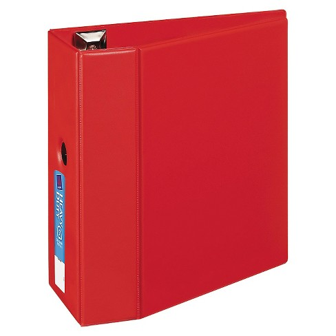 "Avery® Heavy-Duty Binder with One Touch EZD Rings, 11 x 8 1/2, 5"" Capacity, Red - image 1 of 1"